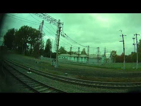 Россия из окна поезда Кемерово Москва