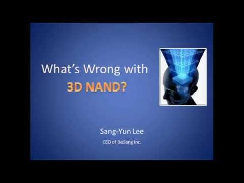 What is wrong with 3D NAND?