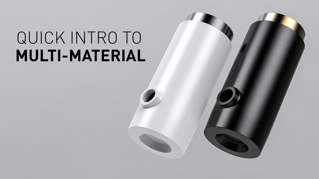 Quick introduction to the Multi-Material in KeyShot 7 Pro