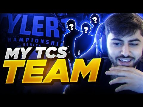 Yassuo   MY TEAM FOR THE 2019 TCS!