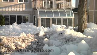 5/11/2013 Mille Lacs Lake Glacial Ice Aftermath