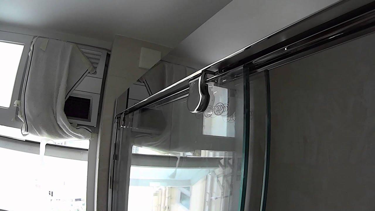 浴室玻璃趟門 Shower Door Gh 6122 Www Shitai Hk Youtube