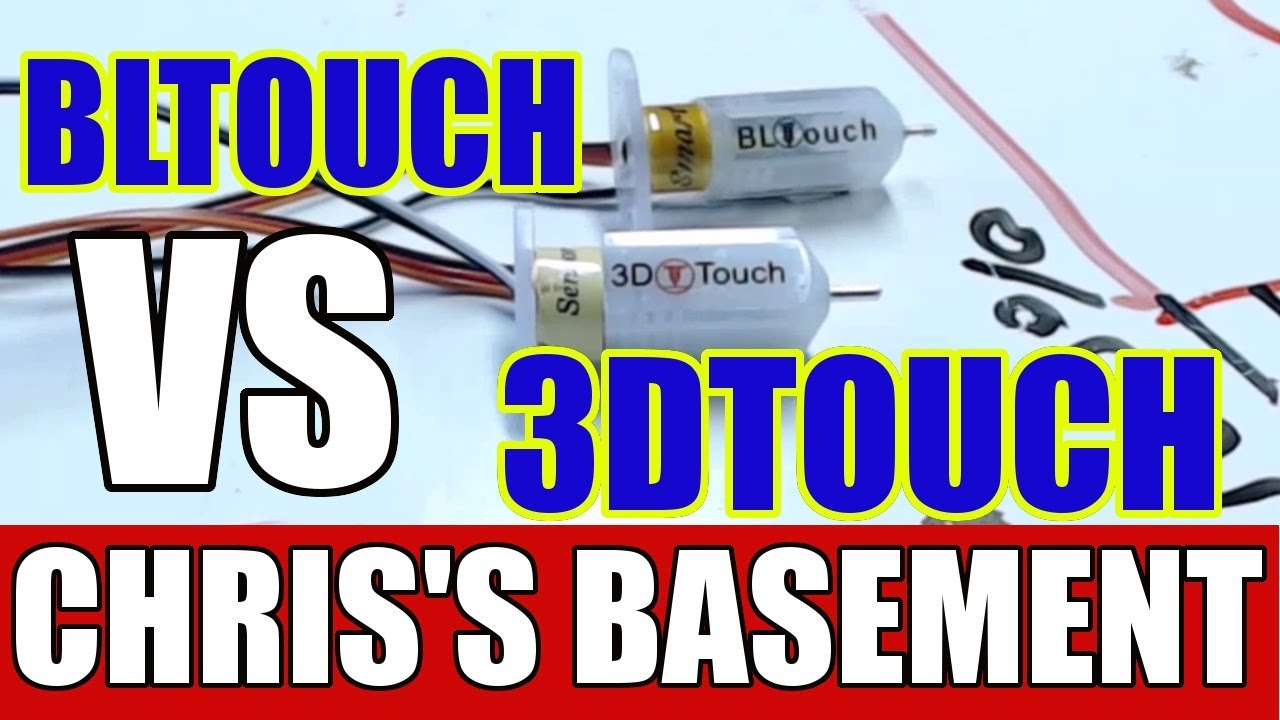BLtouch VS 3Dtouch 3D Printer bed leveling sensor match up