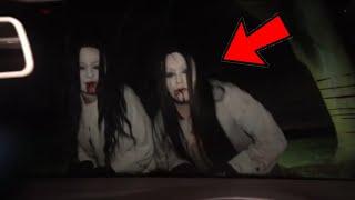 தீடிர் என காரை மறித்த பேய்கள் அந்த நபருக்கு என்ன நடந்தது Top 5 Ghost Video Caught By Youtubers