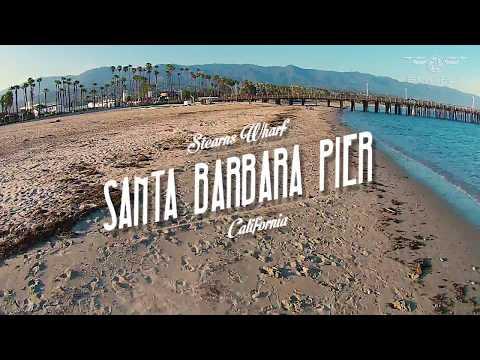 Stearns Wharf   Santa Barbara   California   EUA