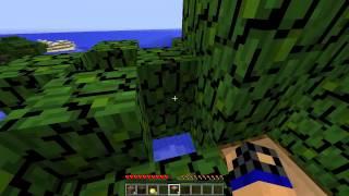 (Minecraft) ALTIN ELMA veren Orman Ağacı