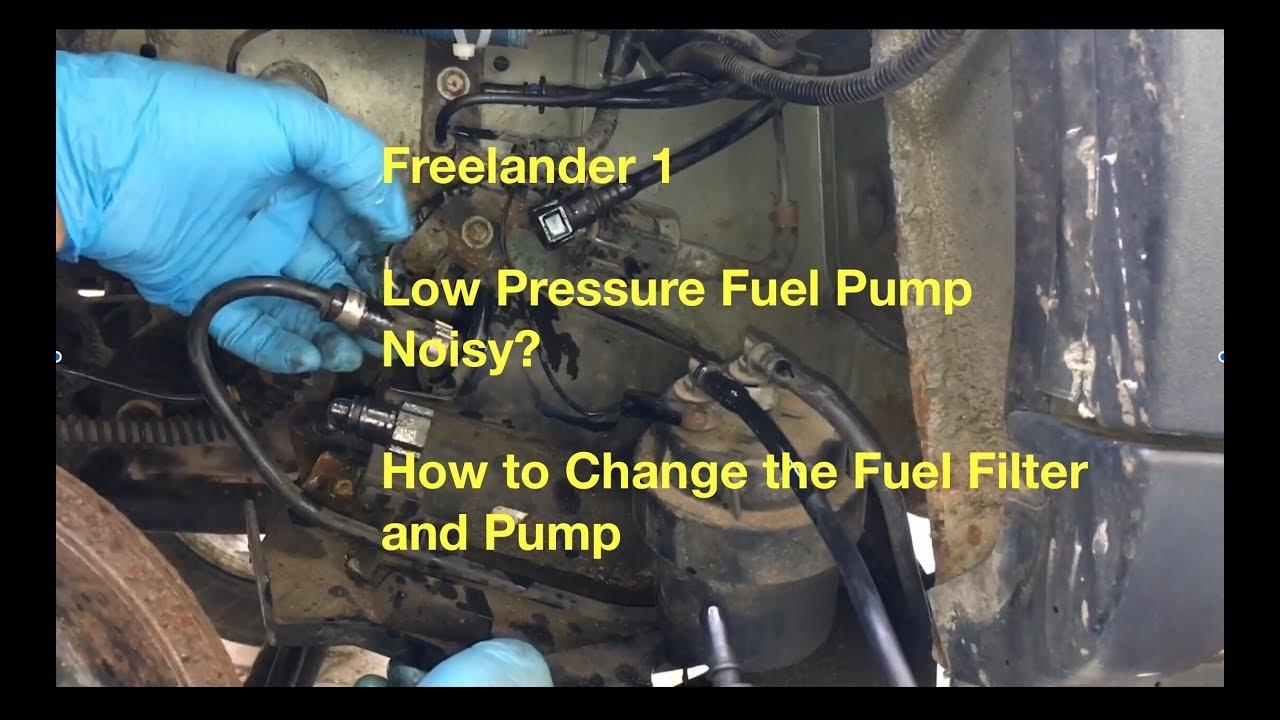 05 6 0 Fuel Filter Housing