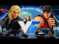 Street Fighter V battle: Ken vs Ryu