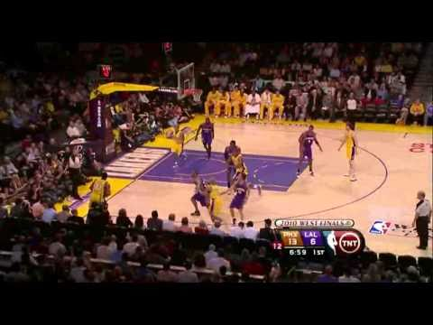 2010 NBA Playoffs- Game 5 Conference Finals Phoenix Suns vs Los Angeles Lakers Part 2