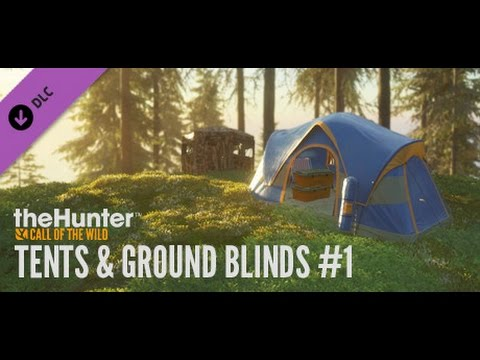 theHunter Call of the Wild - Tents u0026 Ground Blinds - DLC So siehts Ingame aus  sc 1 st  YouTube & theHunter Call of the Wild - Tents u0026 Ground Blinds - DLC So siehts ...