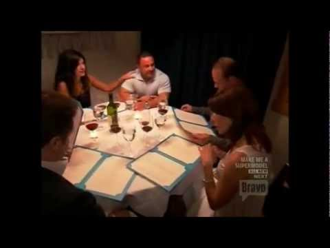 RHONJ  Danielle at Dinner with the Giudices and Lauritas
