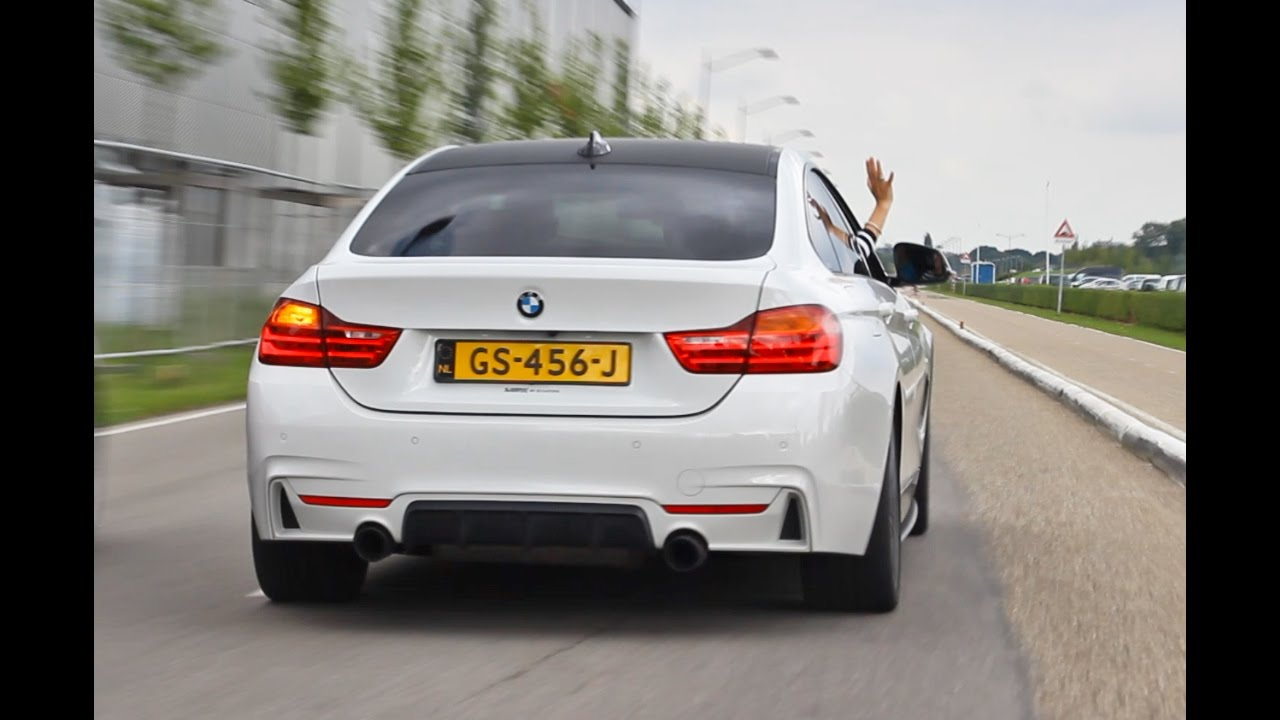 bmw 435i m performance w akrapovic exhaust flat out. Black Bedroom Furniture Sets. Home Design Ideas