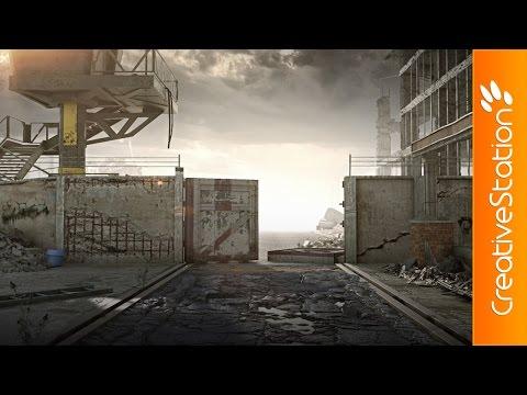 Devolution - 3D Speed art (#3ds Max, Zbrush, Photoshop) | CreativeStation