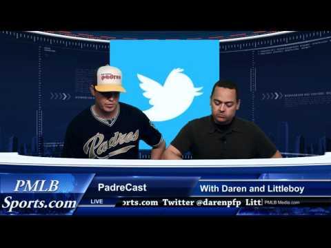 PadreCast San Diego Padres Talk Show by PMLB Media 5-4-2012