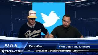 PadreCast San Diego Padres Talk Show by PMLB Media 5-4-2012
