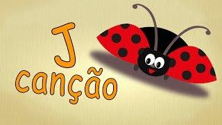 Alfabeto para crianças - J-Canção - A Música do alfabeto - Aprendemos a letra J