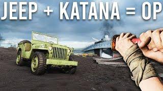 Battlefield 5 but I only use a Jeep and a Katana