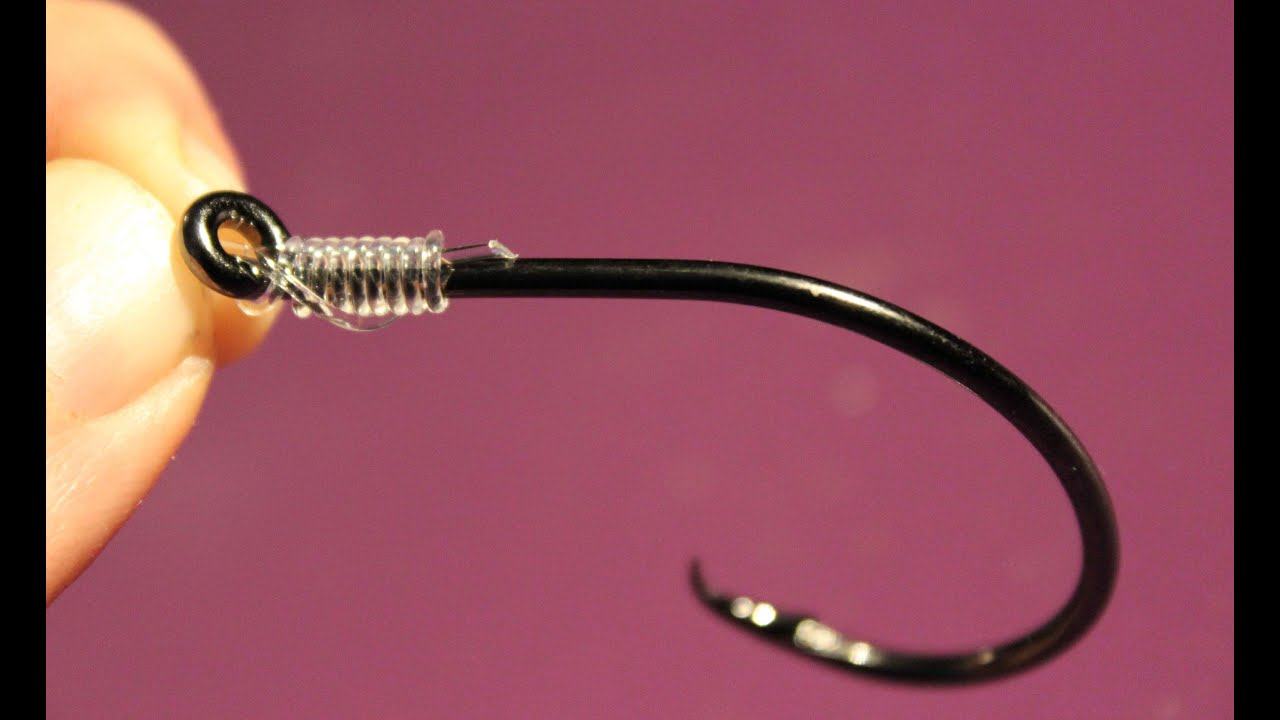 how to snell a hook easy quick and idiot proof way to