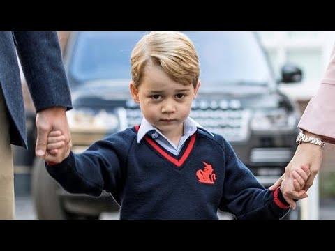 Zo gaat prins George naar school