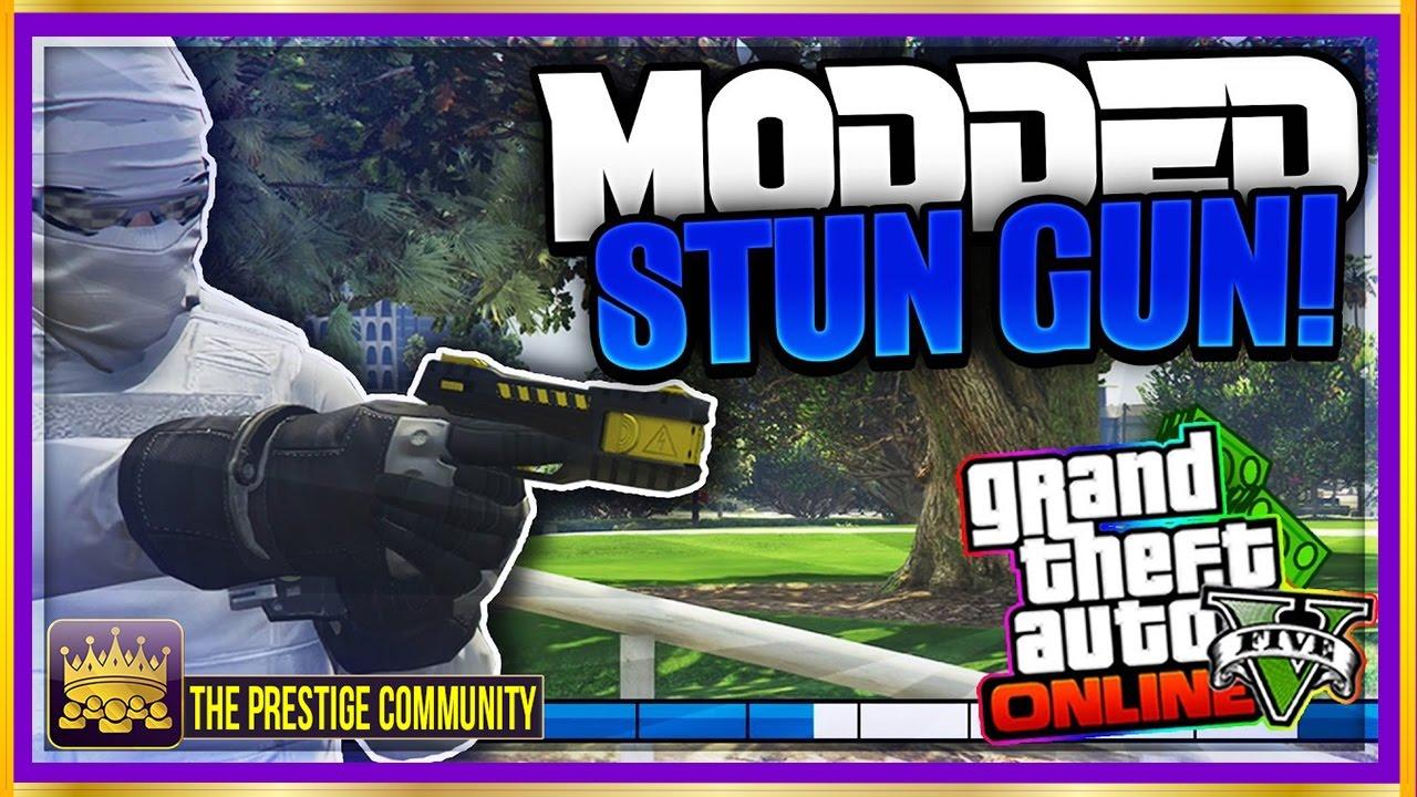 how to get the stun gun in gta 5 online