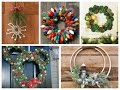 Winter Decorating Ideas - Christmas Wreath DIY Inspiration - 75 Winter Wreath Ideas