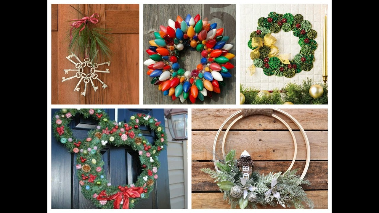 Winter Decorating Ideas   Christmas Wreath DIY Inspiration   75 Winter Wreath  Ideas   YouTube