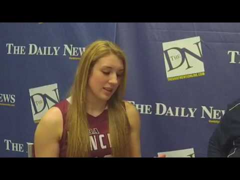 BDN Fab 5 girls basketball, Emily Reynolds and Tom McCulley