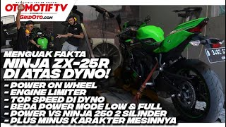 Dyno Test Ninja ZX-25R, 250 cc Power On Wheels Paling Gede! l Otomotif TV