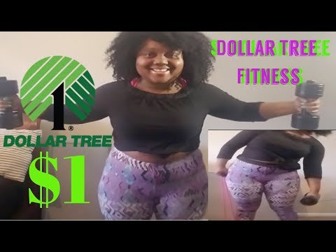 $1 DOLLAR TREE FITNESS | *NEW EXERCISE EQUIPMENT* WORKOUT AT HOME EDITION