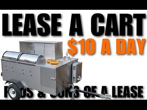 Lease A Hot Dog Cart For $2 00