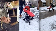 How to build a buggy snowplough ❄🔧