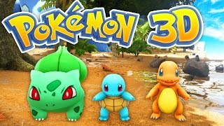 The BEST POKEMON Game EVER! (Pokemon 3D #1)