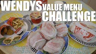 WENDY'S VALUE MENU CHALLENGE