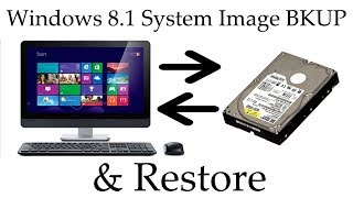 Create System Image Backup of Windows 8.1 and Restore from it
