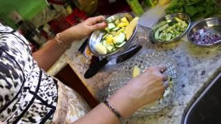 Spaghetti Squash Salad