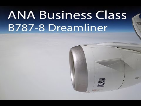 ANA Business Class on NH210 Dreamliner - DUS to NRT