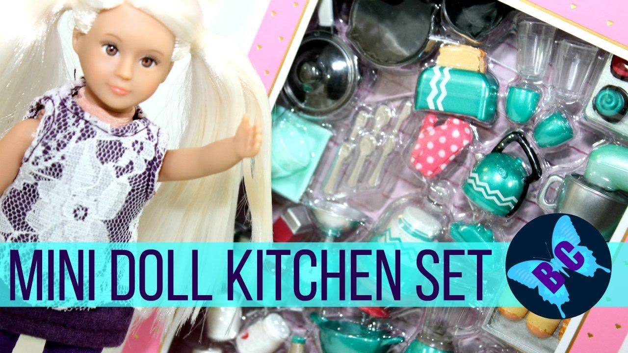 American Girl Mini Dolls Kitchen Accessories | Our Generation LORI ...