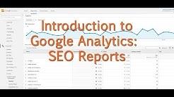 [Tutorial] Google Analytics - SEO Reports