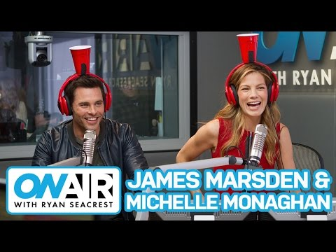 James Marsden & Michelle Monaghan Play Cup o' Secrets | On Air with Ryan Seacrest