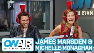 James Marsden & Michelle Monaghan Play Cup o