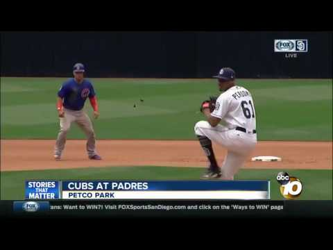 Padres win 2-1 against defending World Series champion Cubs