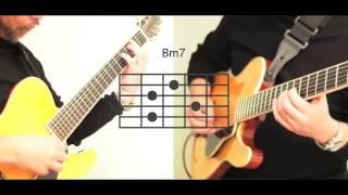 ギターレッスン - オフコース(小田和正)「さよなら」ギター伴奏の弾き方!コード表付き。歌詞付き。弾き語り練習に!/OFF COURSE