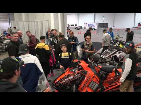 Powermodz Booth At The Toronto Snowmobile Show  Are You In This Video?