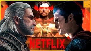 Геральт = Супермен. Официально. Генри Кавилл в сериале Ведьмак от Netflix.
