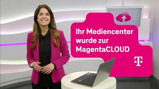 Telekom: Ihr Mediencenter wurde zur MagentaCLOUD