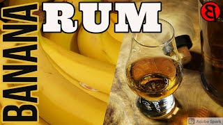 HOW TO MAKE RUM - EASY BANANA RUM