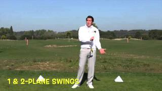 How to make the Sure Set golf training aid work for different swing types   A swing, 1 & 2 plane, st