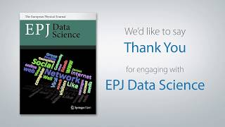 EPJ Data Science and You
