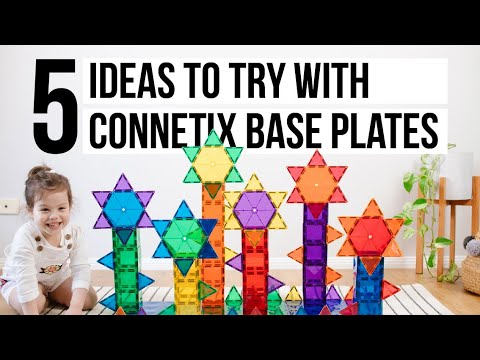 5 Ideas to Try with Connetix Base Plates