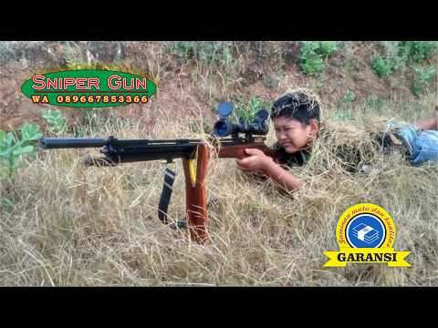 Jarak Akurasi Tembak / Senapan Gejluk Pesanan Khusus Popor Naga WA 089667853366